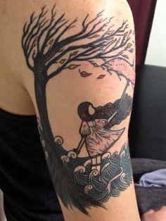 pretty color  #lydia tattoo