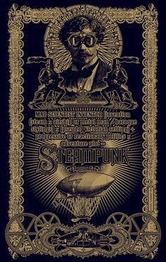steampunk | Las obras de temática steampunk a menudo muestran tecnologías ...