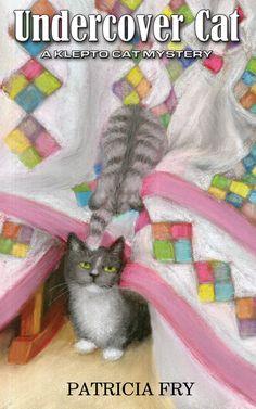 "Featured Artwork: ""Undercover Cat"" Book Cover"
