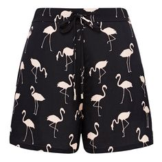 You can't go wrong in our flamingo soft short, it squawks summer.   Featuring elasticated back waistband and front draw cord for ultra-wearability and in a soft viscose fabrication, it will be your go to casual short this summer. 100% VISCOSE