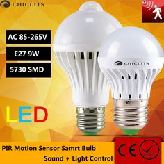 Cheap lamp with motion sensor, Buy Quality motion sensor lamp directly from China sensor lamp Suppliers: LED Bulb Motion Sensor Lamp Led Light Sound+Light Auto Smart Led Infrared Body Lamp With Motion Sensor Lights Beauty Supply Store, Light Sensor, Led Lamp, Light Bulb, Visit Website, Trending Fashion, Gadgets, Allure Beauty, Visa Card