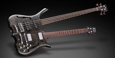 Infinity - Panthera #335 - Double neck and Nirvana Black Oil Finish Colour