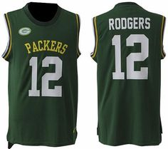 664fcca1748e3a Nike Packers Aaron Rodgers Green Team Color Men Stitched NFL Limited Tank  Top Jersey For Sale Green Bay Packers