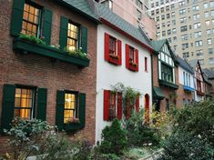 A Miniature English Village on the Upper West Side