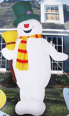 1000 Images About Frosty The Snowman Inflatable On Pinterest