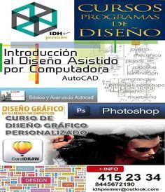Cursos de diseño gráfico personalizados. cursos de photoshop, coreldraw y autocad