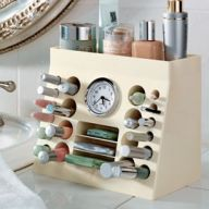 Cute Makeup Holder with Clock
