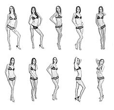 Model Poses | Posing rules for model or photographer?
