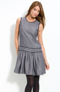 Theory 'Luvira - Redbay' Linen Dress | Nordstrom - StyleSays