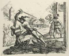 Woodcut after an etching by Hans Ulrich Franck, c. Thirty Years' War, Story Drawing, Germany And Italy, Great Power, European History, Strike A Pose, British Museum, Catholic, Medieval