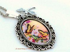 Collar con camafeo de La Tienda Vintage de Kima por DaWanda.com