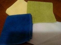 12 of microfiber cloths