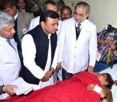 Cashless Treatment, Courtesy Akhilesh Yadav  http://socialsamajwadi.com/post/140439360098/cashless-treatment-courtesy-akhilesh-yadav