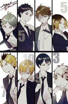 I love nekoma Haikyuu setters Haikyuu Manga, Manga Anime, Haikyuu Nekoma, Haikyuu Funny, Haikyuu Fanart, Anime Guys, Nishinoya, Karasuno, Daisuga