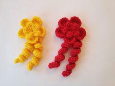 Tığ İşi Çiçek Yapımı - Crochet Flower
