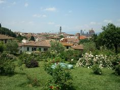 Firenze dal Giardino delle Rose