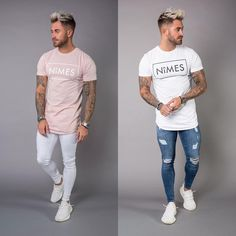 "1,029 Likes, 17 Comments - NîMES (@nimesltd) on Instagram: ""New Longline T shirts  Spray On Jeans  Sleeveless T shirts  Denim Slim Shorts  Available Online…"""