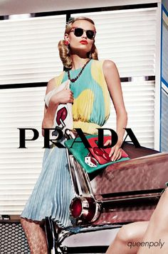 Natasha Poly/Prada Spring Summer 2012