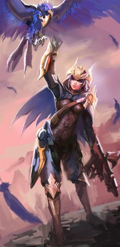 League of Legends artwork, sketches by Dopey Inven.kr - Imgur