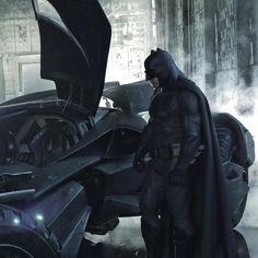 Batman vs Superman - Liberadas novas imagens dos bastidores e artes conceituais! - Legião dos Heróis