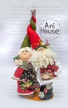 Handmade Christmas, Christmas Crafts, Xmas, Christmas Ornaments, Softies, Fabric Patterns, Gnomes, Fun Crafts, Christmas Stockings