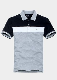 Men's Short Sleeve P By: Hectoralbes Sports Polo Shirts, Mens Polo T Shirts, Polo Tees, Short Sleeve Polo Shirts, Polo Shirt Style, Polo Shirt Design, Moda Converse, Polo Outfit, Jean Shirts