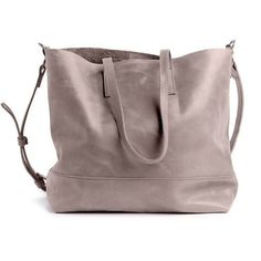 Abera Crossbody Leather Tote | Pewter , [product vendor] - Vineworks Fair Trade