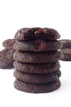 The BEST Double Chocolate Fudge Cookies - perfect every time!
