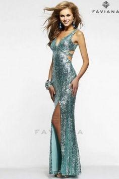 VESTIDOS noite para o 2016 Faviana - Eva Red Moda
