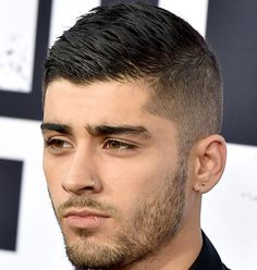 Zayn Malik Short Men's Haircuts - Ivy League Crew Cut For Guys
