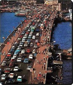 ✿ ❤ Bir zamanlar ISTANBUL, Galata koprusu 1970 ler