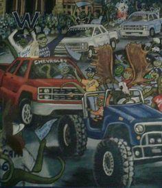 2015 World Series Parade Art...