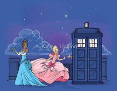 Karen Hallion, Doctor Who, Tiana and Cind Disney Fan Art, Disney Love, Disney Pixar, Disney Characters, Disney Princesses, Doctor Who Funny, Doctor Who Companions, Disney Crossovers, Thing 1