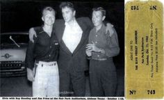 Elvis never left — 1955 year. Abilene, Elvis' performance at the Fair...