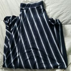 Maxi skirt Navy and white Cato Skirts Maxi