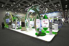 Hitachi Trade Show Exhibit Booth Design