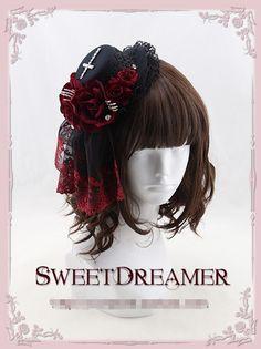 Infanta Rabbit Poker Lolita Pumpkin Hat Accessory 20.99-Lolita Headdress - My Lolita Dress