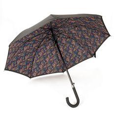Black Paisley Umbrella | Pretty Green | Designer fashion from Liam Gallagher