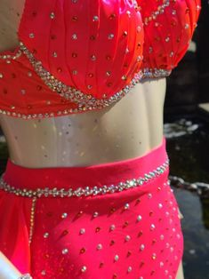 Beautiful Custom Dance Costume jazz lyrical contemporary | Etsy Custom Dance Costumes, Jazz Dance Costumes, Bra Styles, Musical Theatre, Coral, Feminine, Contemporary, Etsy, Beautiful