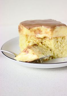 "Szybkie ciasto ""Monte"" z budyniem 