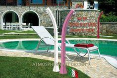 Doccia solare da giardino piscina HAPPY FIVE 28LT miscelatore e lavapiedi - F520