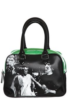 Rock Rebel Frankenstein Green Bowling Bag $34.50 at Hot Topic ... I own this bag, love it soooo much! Thanks dad! ;)