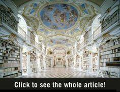 Prachtige Bibliotheken - Vrouwen.nl