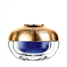 The gold and lapis jar looks like something you might find in the sarcophagus of Egyptian royalty. Guerlain Orchidée Impériale Eye and Lip Cream Sephora, Dark Circles Under Eyes, Anti Ride, Nordstrom, Lip Cream, Makeup Application, Best Anti Aging, Flawless Makeup, Health And Beauty