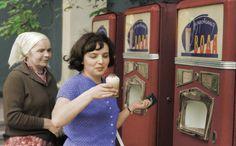"«Стакан холодной газировки». 1966 год.  ""A glass of cold soda"". 1966."