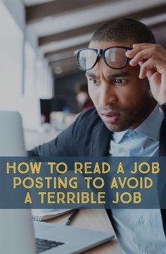 But while you'll certainly face a lot of jargo when searching for a new position, once you understand how to decipher any job posting you come across you'll save a lot of time and energy. Here are a few tips to use when reading job descriptions.