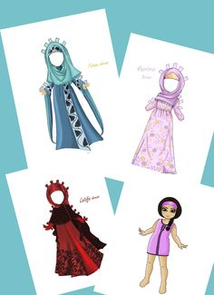 Dress up Paper Dolls ART activity for chidren Paper Doll for Girls PDF Pattern Dolls with clothes Muslim clothes I always liked to play with paper dolls when i was a little girl but I've never seen dolls in Oriental-style clothes.So I got the idea to make a book for all the little fashionistas and making my dreams and maybe the dreams of other girls true..#paperdolls#paperdollart#paperdollsforgirls#activityforkids#dressupdoll#paperdollpattern#paperdollvintage#dressupdollvintage