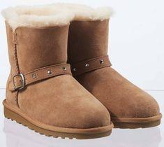 16b16db9d9 Kids Sheepskin Boots Shearling Slip On Chestnut Short Warm Winter Snow Shoes  Slip On Boots