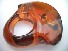 Amber chunk ring |Pinned from PinTo for iPad|