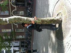 Boomknuffelaar, Spui, Amsterdam